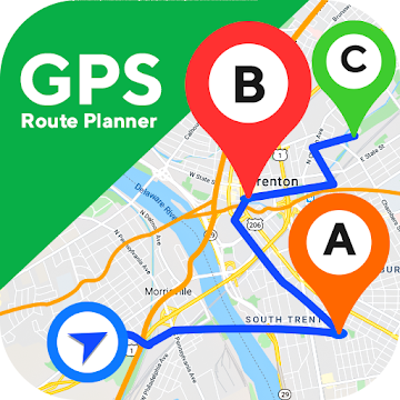 GPS Route logo
