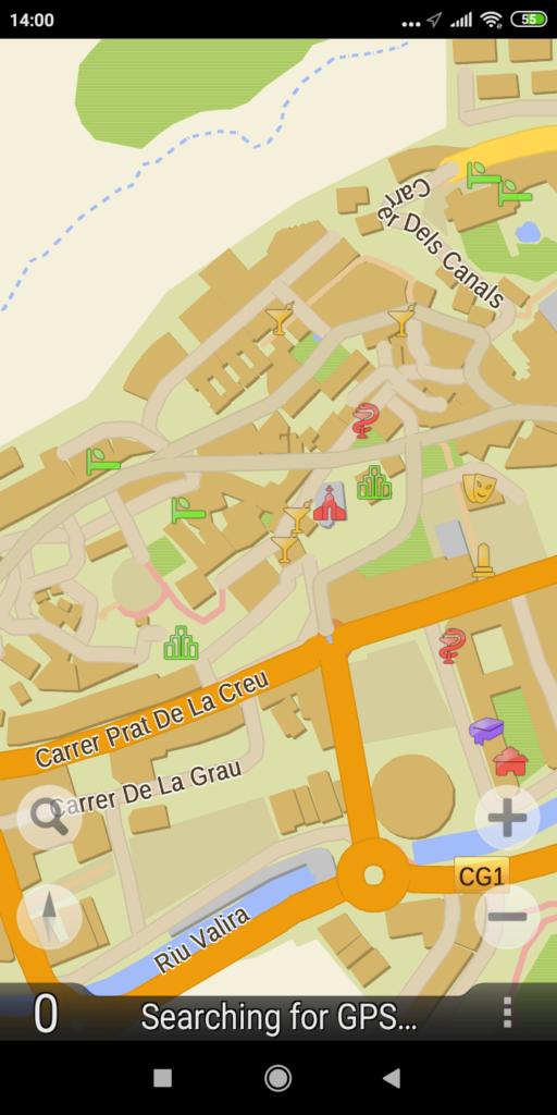 GPS navigator TourMap